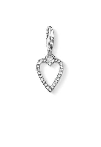 "THOMAS SABO silver Charm pendant ""heart"" AC2B3AC550028AGS_1"