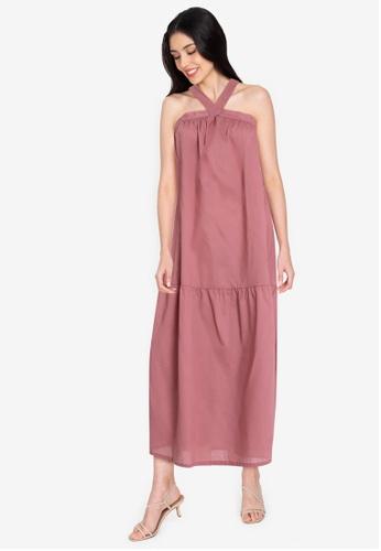 Maria Elena pink Ile Dress 0032EAA65B692BGS_1