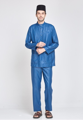 MOTHER & CHILD blue Baju Melayu Sultan Exclusive 8D069AA4B2474BGS_1