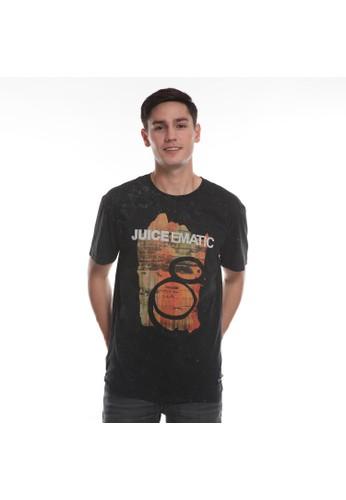 Juice Ematic black Juice Ematic Kaos Lengan Pendek Pria Hitam DONERS Planet Surf 21D13AA791868FGS_1