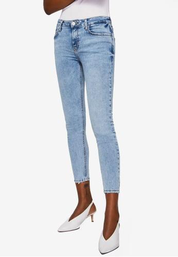 Mango blue Cropped Skinny Jeans 2BDA1AAA60CE86GS_1