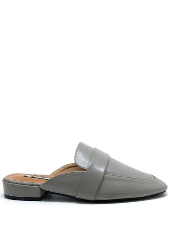 Twenty Eight Shoes grey Simple Mules Flats 1388-26 4B40ASH3FA2B20GS_1