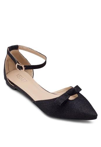 Varinaesprit 衣服 尖頭蝴蝶結平底鞋, 女鞋, 鞋