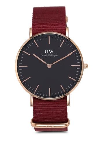 749a8f1d96e Daniel Wellington gold Classic Roselyn Black Watch 36mm 18FE9ACA3FEEA4GS_1