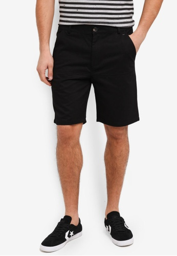 Flesh IMP 黑色 Bauer Line Shorts 806FBAABAD108AGS_1