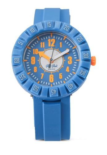 Flik Flak blue Teal My Mind Watch A97D6KC8F66C66GS_1