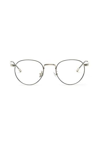Kyfer's Eyewear & Essentials black and silver Vintage Classico Eyewear II KY376AC04MYXSG_1