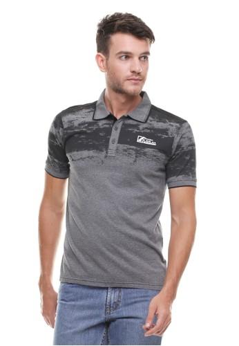 LGS grey LGS - Slim Fit - Kaos Polo - Motif Sablon - Logo Abu LG695AA0VG2WID_1