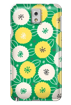 Cotton Flower All Glossy Hard Case for Samsung Galaxy Note 3