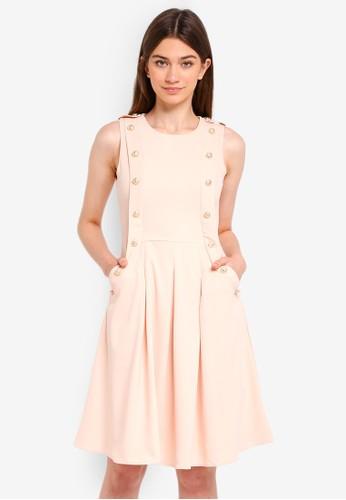 Megane beige Essential Janessa Dress B304BAA794FAA2GS_1