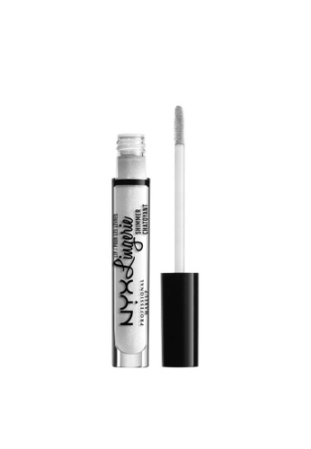 NYX Professional Makeup white NYX Professional Makeup Lip Lingerie Shimmer - LLS01 CLEAR C4723BED2A07FBGS_1