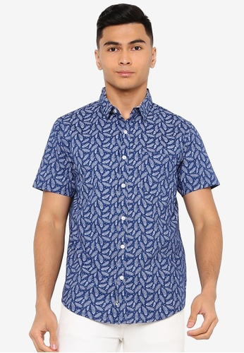 Brave Soul black All Over Printed Shirt 90631AA2E9B793GS_1