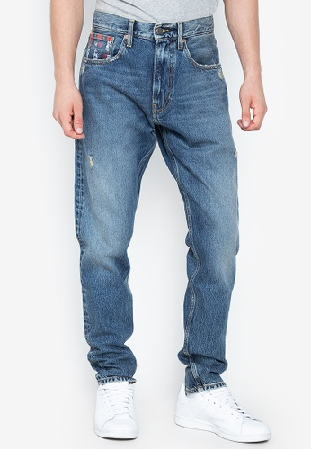 efdae0c82 Tommy Hilfiger blue Modern Tapered Tommy Jeans 19 Denim Pants  99B7BAA9564FBBGS_1