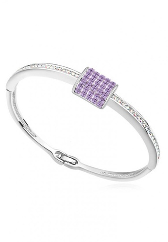 LOVENGIFTS purple LOVENGIFTS Fairy Tales Bangle (Lavender) LO429AC42MBXMY_1