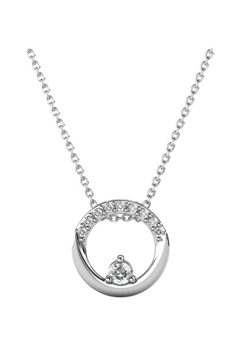 Her Jewellery white Her Jewellery Clarine Pendant embellished with Crystals from Swarovski 54A17AC51A2993GS_1