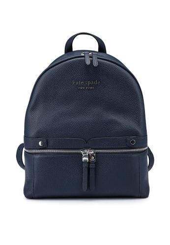 kate spade new york blue The Day Pack Medium Backpack DCD7EACB773F3BGS_1