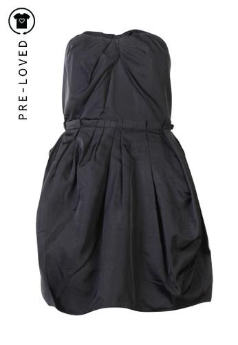 Marc Jacobs black Pre-Loved marc jacobs Black Sleeveless Dress 0B98BAA7E3A3EFGS_1