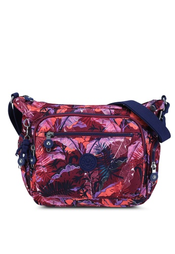 Kipling red and multi Gabbie S Crossbody Bag 86811ACA2ED0D4GS_1