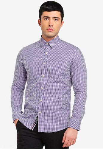 Buy UniqTee Checkered Long Sleeve Shirt Online on ZALORA Singapore a2f6d707dc685