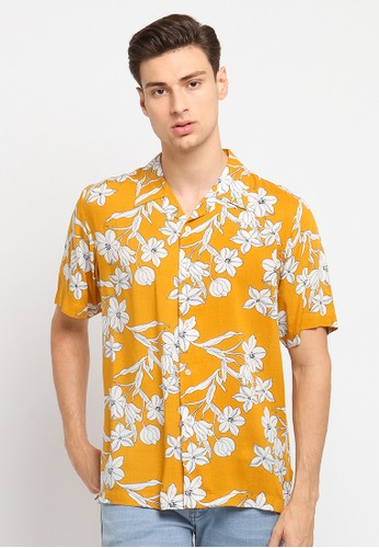 Crow yellow CROW Floral Shirt / Kemeja Floral 668DFAA7051E7FGS_1