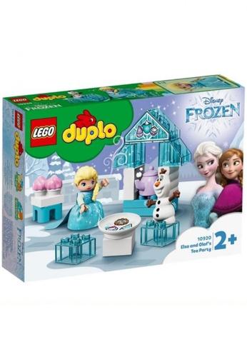 LEGO multi LEGO DUPLO Princess TM 10920 Elsa and Olaf's Tea Party (17 Pieces) 1D213THD56F0C9GS_1
