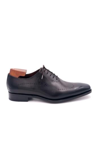 Giorostan brown Men Formal Oxford Shoes 57C52SH6C9BD0FGS_1