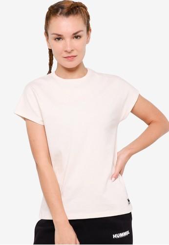 Hummel white Intro T-Shirt 3B79BAAD4D8428GS_1