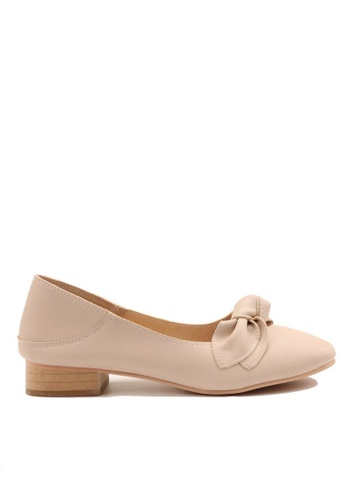 Twenty Eight Shoes Bow Non lining Flats 806-1 3120BSH96FB4C3GS_1