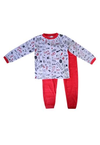 Babybol red Children Pyjama 18E8CKA5DEE8C2GS_1