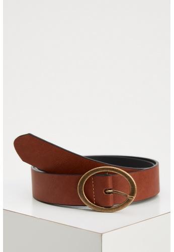 DeFacto brown Woman Belt 5D18BAC7092F87GS_1