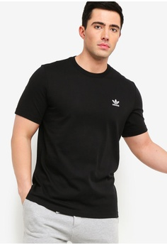 39fba7ac8202c4 adidas black adidas originals essential tee 5BB7BAA09A99F1GS 1