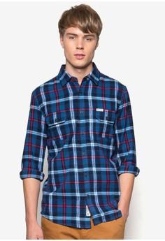 Windsor 格紋長袖襯衫