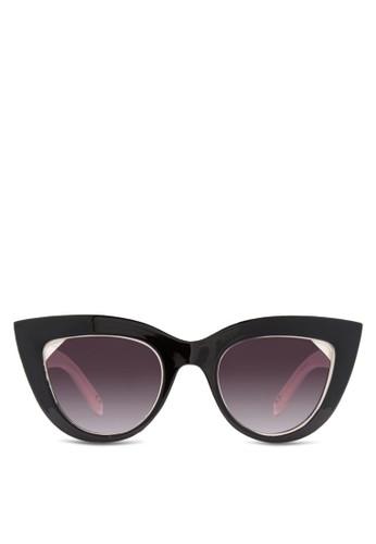 JP0068 撞色貓眼太陽esprit門市眼鏡, 飾品配件, 飾品配件