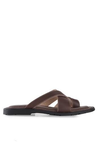 MARC & STUART Shoes brown Sandal Nick MA456SH35BDGID_1