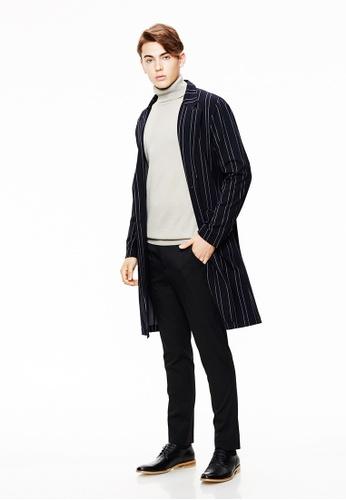 Life8 blue Formal Knit Coat-11131-Deep Blue LI286AA0SC7MMY_1