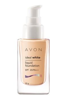 Avon Color Ideal White Liquid Foundation in Beige Ochre