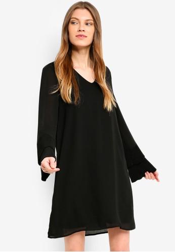 Vero Moda black Jimilia Dress 4502EAAF8AD0CFGS_1