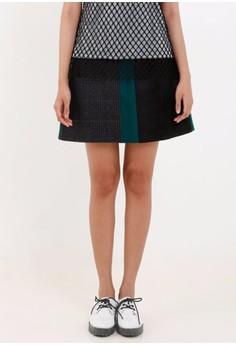 [PRE-ORDER] Wool Suede A- Line Skirt
