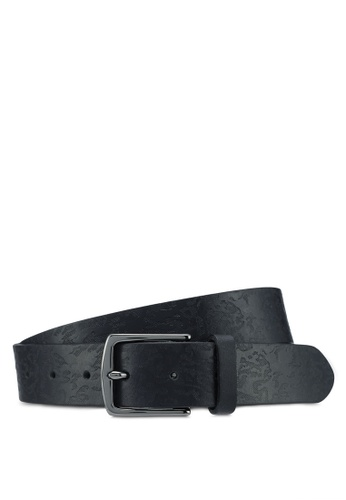 River Island black Camo Imprint Belt F4826AC68999D0GS_1