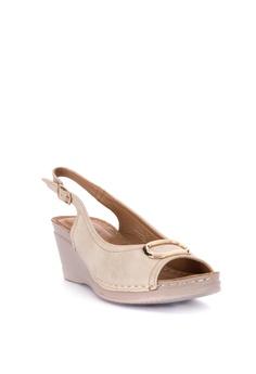 e0372189406a1e Mendrez Anniya Peeptoe Wedge Sandals Php 1