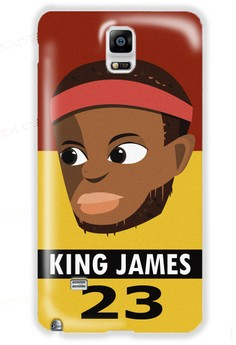 King James Matte Hard Case for Samsung Galaxy Note 4