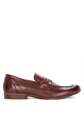 Mendrez brown Xevi Formal Shoes D5CD1SH650833BGS_1