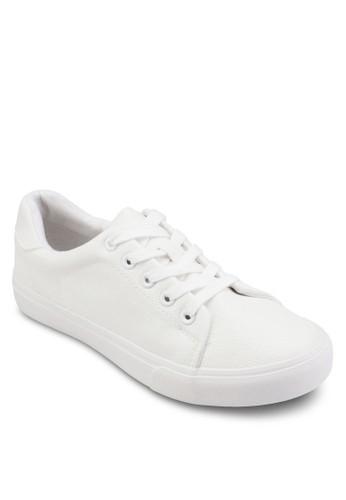 Caitlyn 亮面繫帶運動鞋、 女鞋、 鞋RubiCaitlyn亮面繫帶運動鞋最新折價