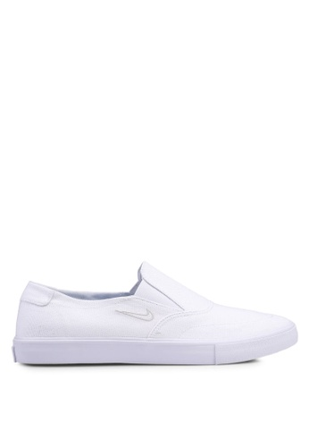 quality design 36570 21569 Nike white Nike SB Portmore II Solarsoft Slip Shoes 1CA47SHF38DA36GS 1