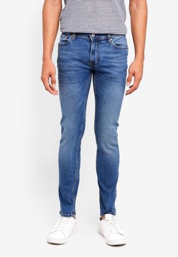 MANGO Man blue Slim-Fit Medium Wash Jan Jeans 1E42AAAB6820A0GS_1