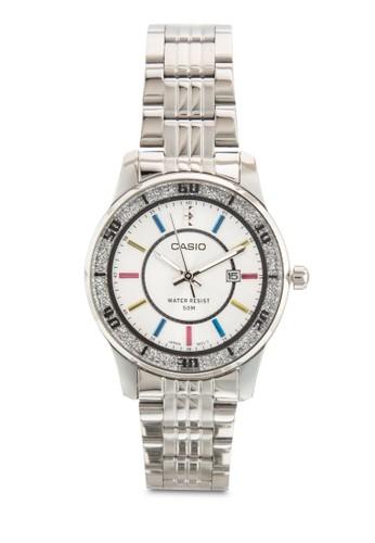 三指針不銹鋼圓錶,esprit tote bag 錶類, 飾品配件