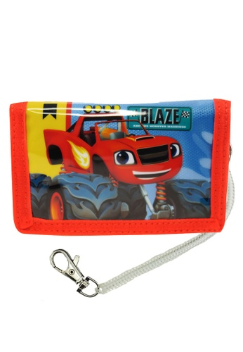 Blaze red Blaze Monster Machines Tri Fold Wallet 3B723KCD8E5464GS_1