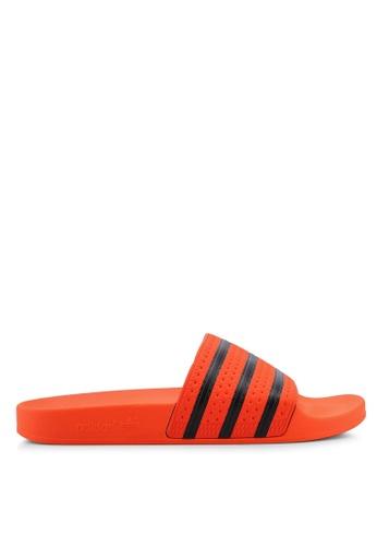 b883cd4df443 adidas orange adidas originals adilette slides 38AC9SHBE43941GS 1