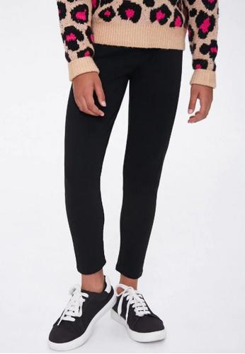 FOREVER 21 black High-Rise Leggings 79562KA86183FEGS_1