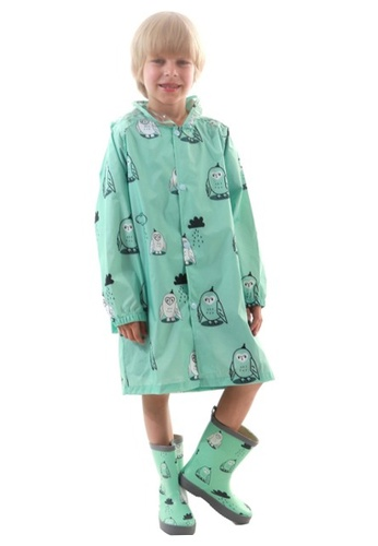 Twenty Eight Shoes green VANSA Fashion Cartoon Raincoat VCK-R002 7FF87KAB059A7BGS_1